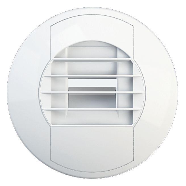 Bouche hygro reglable bain diametre raccord 80 mm 10/40 m3/h Réf.850195