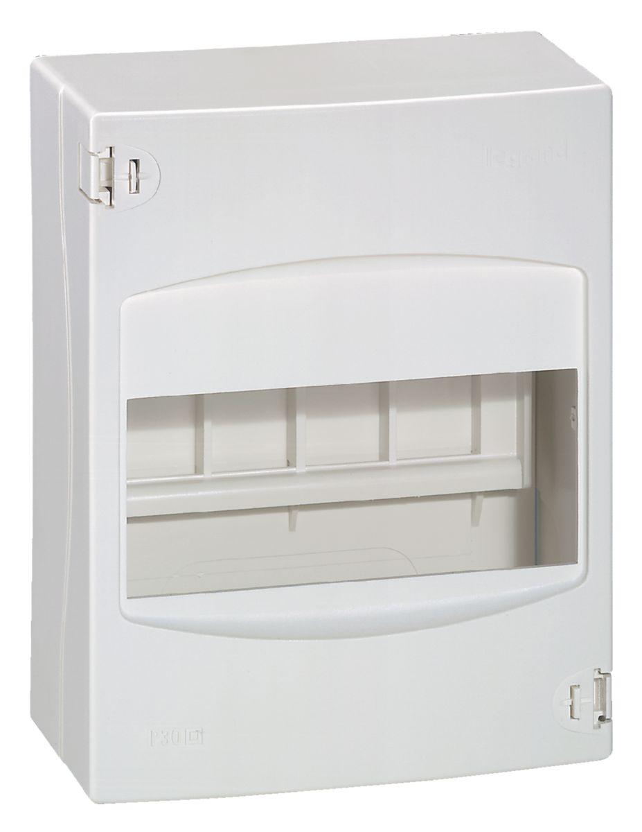 Coffret cache-bornes - 6 modules - blanc RAL 9010 - Ref.001306
