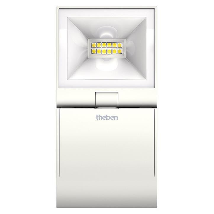 Projecteur Led avec détecteur Theleda S 10W blanc - Réf. 1020981