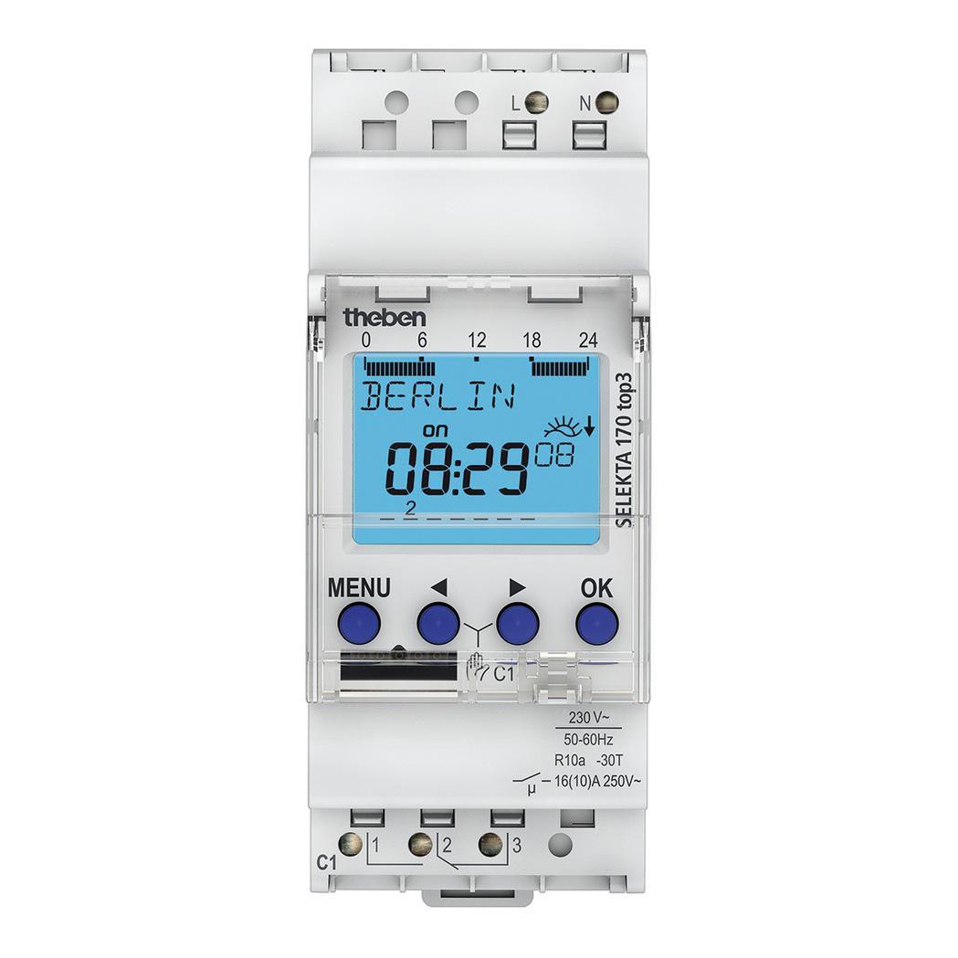 Interrupteur ASTRO modulaire 1 contact 2 modules 35 mm compatible OBELISK TOP 3 bluetooth Réf. 1700153