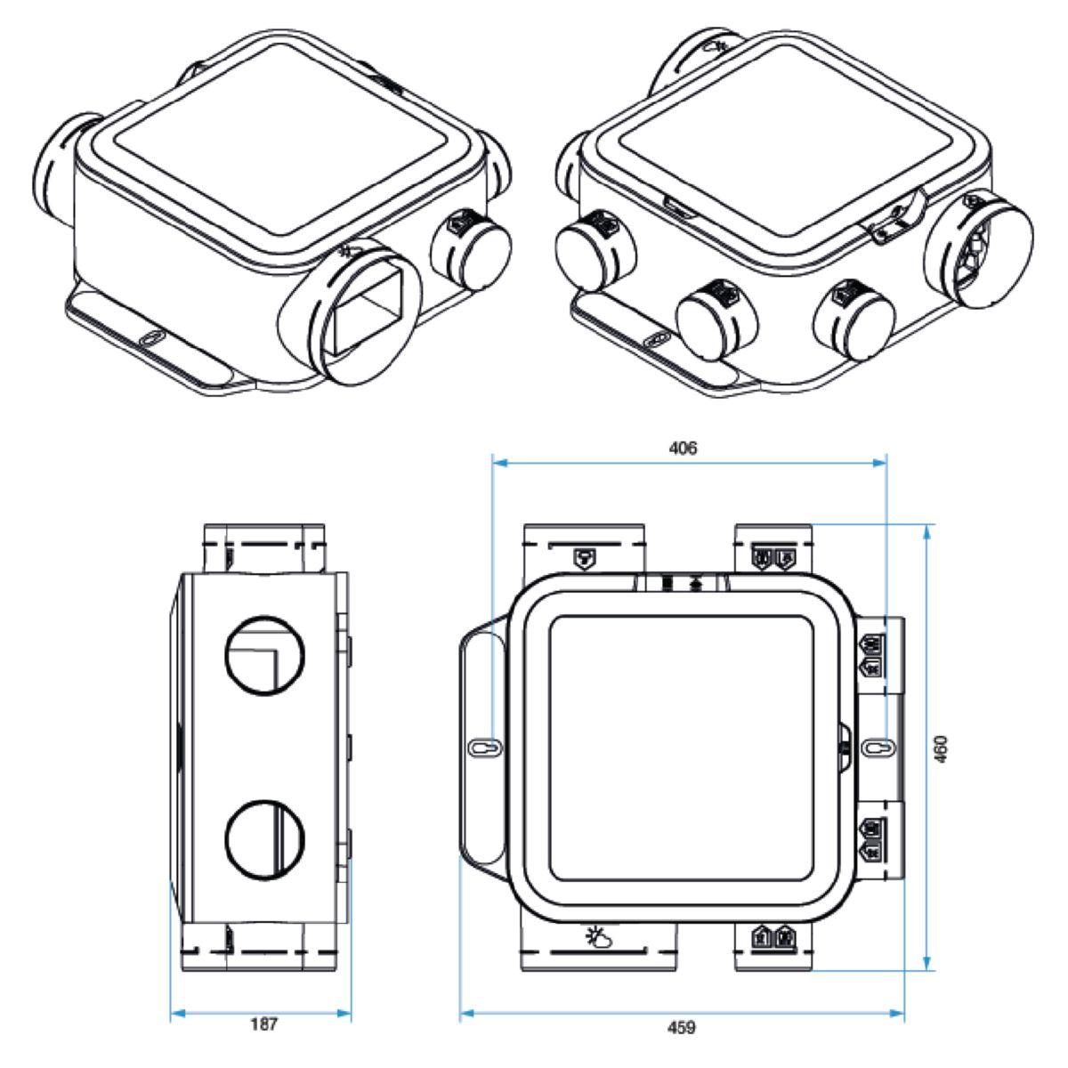 Kit Easyhome Hygro compact premium MW Réf 11033051