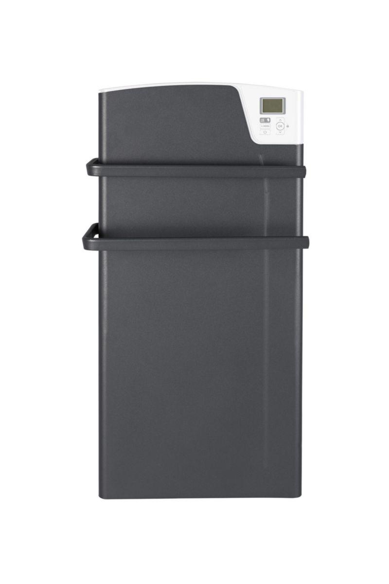 Radiateur sèche-serviettes électrique Kea Ventilo 1400 W gris Réf 841524