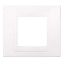 Unicaplus plaque blanc simple Réf MGU6.002.18