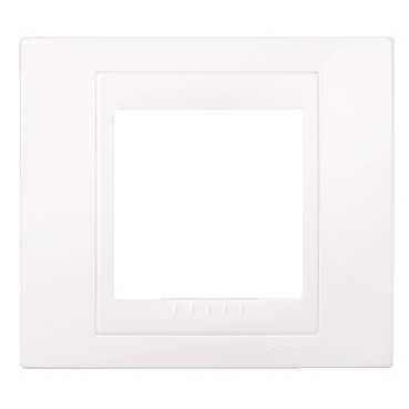 Unicaplus plaque blanc simple Réf MGU6.002.18