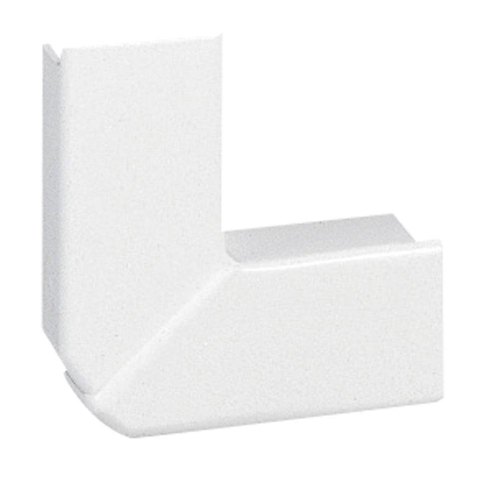 Angle plat pour moulure DLPlus 40x20 - Réf.030283