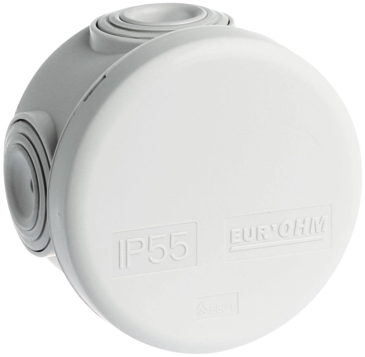 Boite de dérivation IP55 - Ø 60 x 40 mm - Réf.50001
