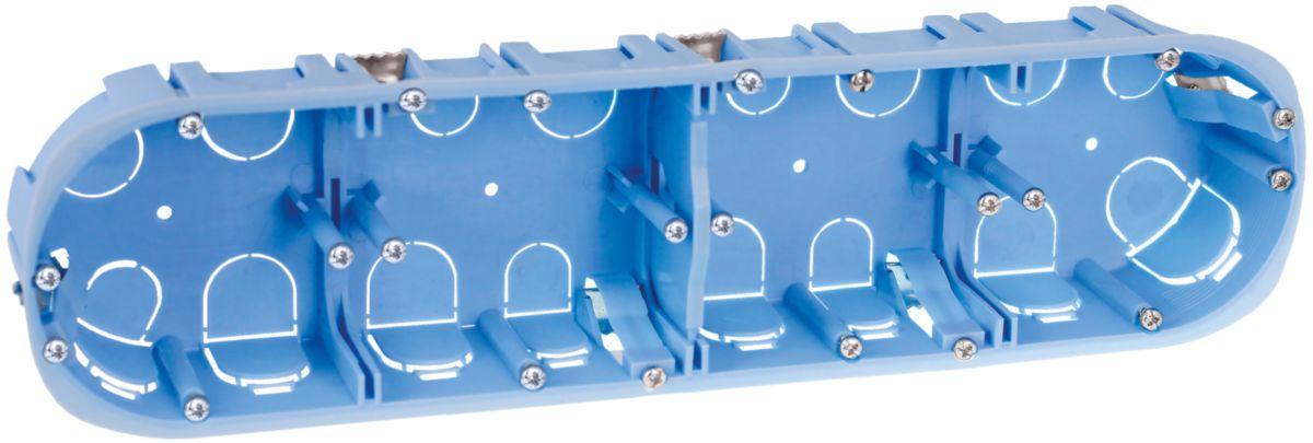 boîte pl quadr. d67 71mm p40 H/V XL 52048