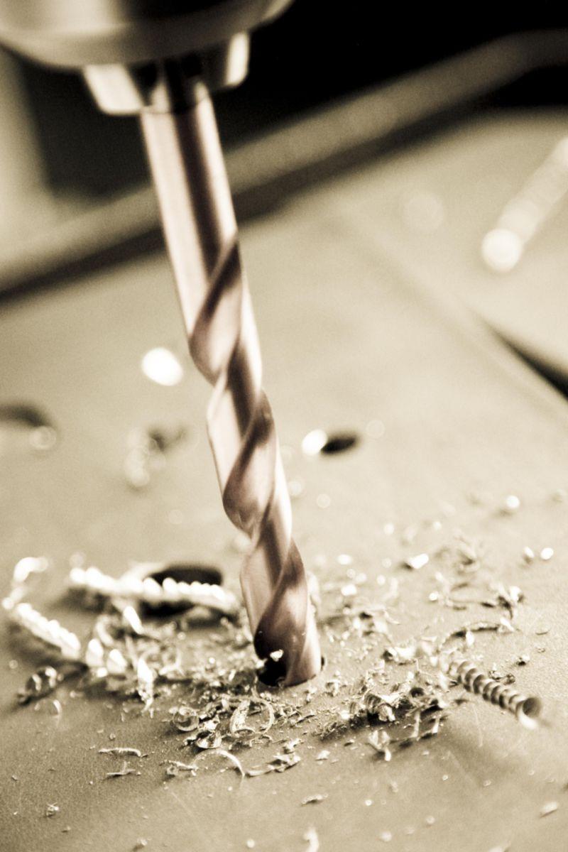 Coffret 10 forets métaux cylindriques pour perceuse