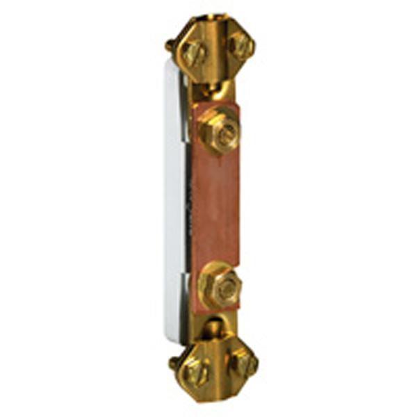 Barrette de coupure Basse - platine plastique 95x20 - Ref.034389