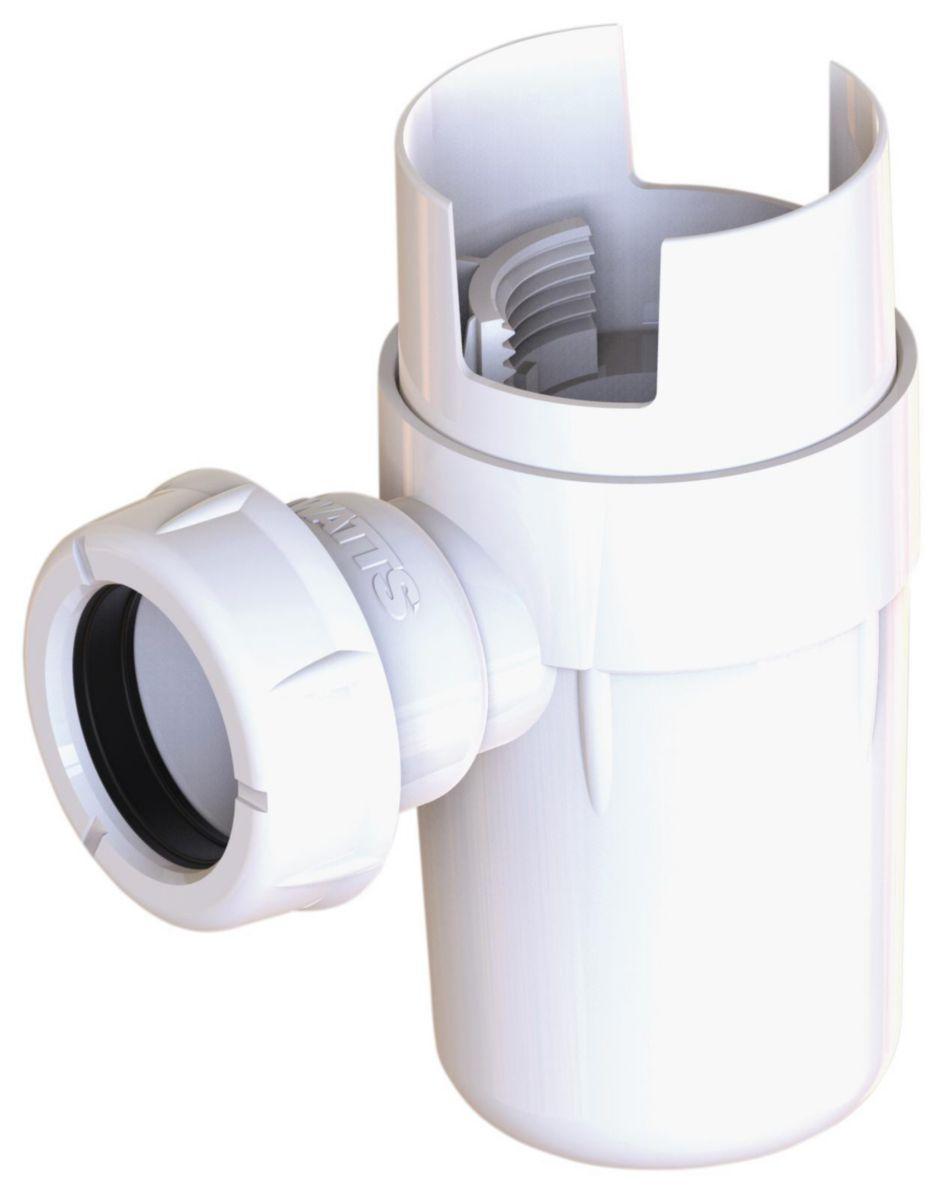 Siphon pour groupe de sécurité avec déflecteur en kit réf 2292315