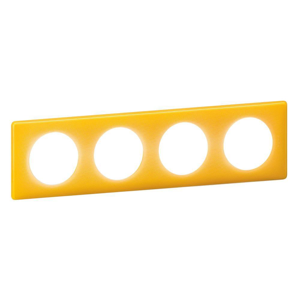 Plaque 4p jaune today 066674