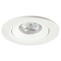 Spot LED encastré orientable Start Spot IP20 - plastique blanc - 400 lm - blanc chaud