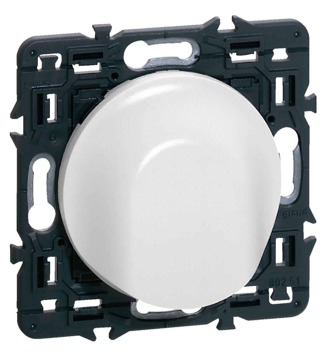 Enjoliveur Céliane - sortie de câble - blanc - Ref.068141