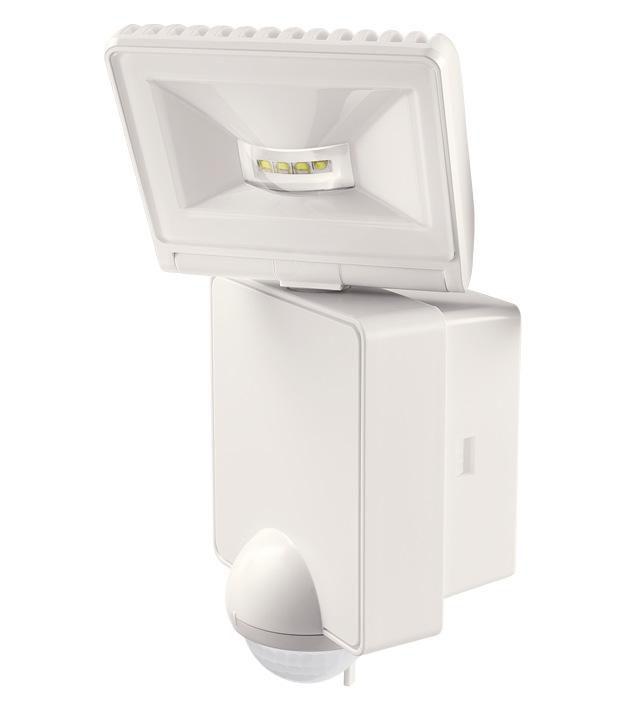 Projecteur détecteur Luxa 102-140 8W blanc - Réf. 1020971