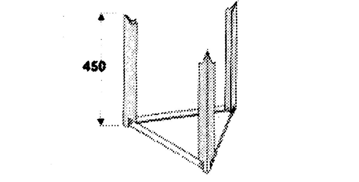 Trepied universel quadripode de 50 à 200 L réf. 009231