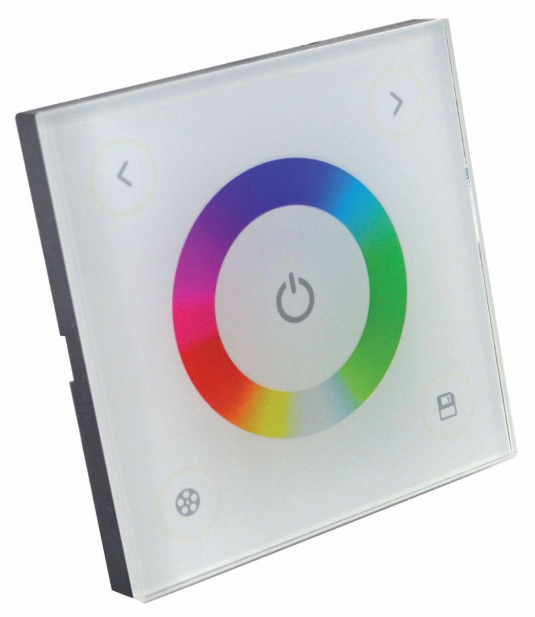Télécommande RGB tactile pour ruban led - Réf. 408896