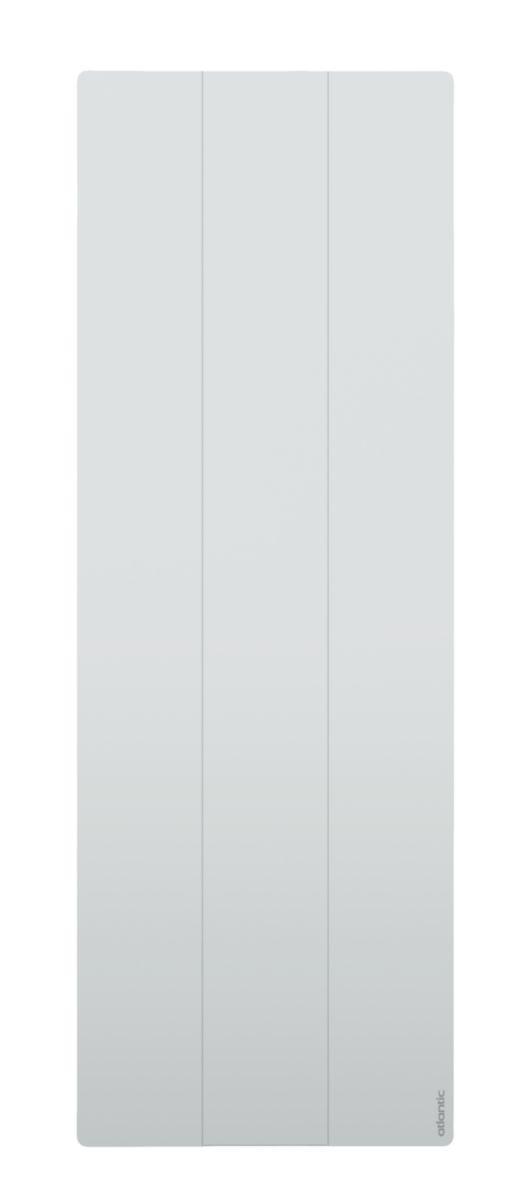Radiateur acier décor électrique Calissia vertical 2000 W Réf 529920