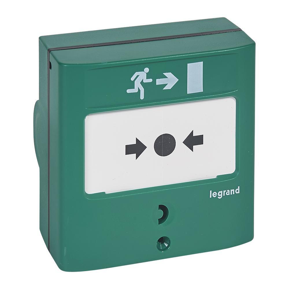 Dispositif de commande manuelle d issue de secours 1 contact Réf.138023