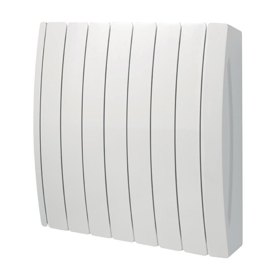 Radiateur acier décor électrique TAIGA 1000 W blanc Réf TAKE-100-057/CF