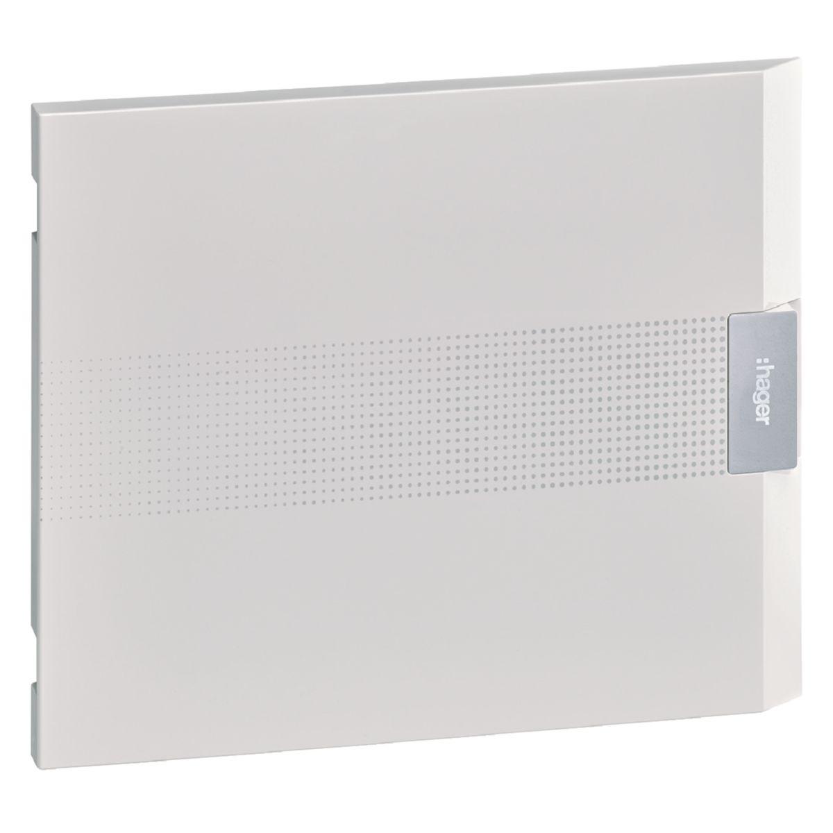 Porte opaque vega 18 modules 1R Réf. VZ118P